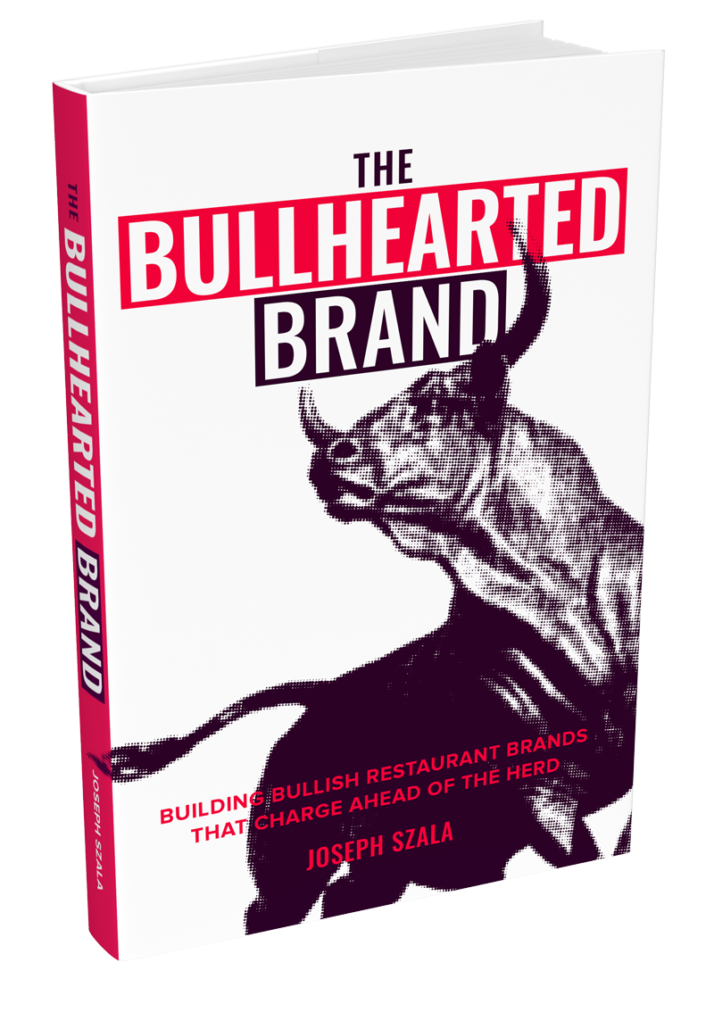 The Bullhearted brand - restuarant branding and marketing book